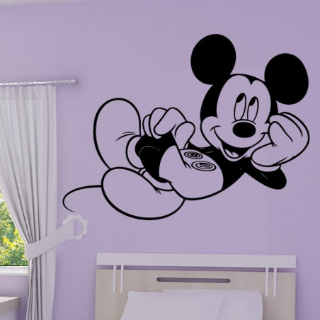Sticker Mickey Allongé