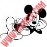 Sticker Mickey Allongé