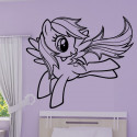 Sticker My Little Pony - Rainbow Dash