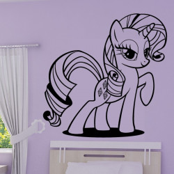 Sticker My Little Pony - Rarity