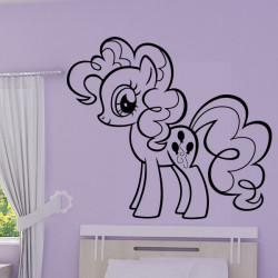 Sticker My Little Pony - Pinkie Pie