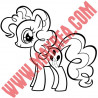 Sticker My Little Pony - Pinkie Pie