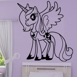 Sticker My Little Pony - Princesse Luna