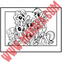 Sticker My Little Pony - Cadre