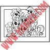 Sticker My Little Pony - Cadre