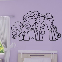 Sticker My Little Pony - Calin