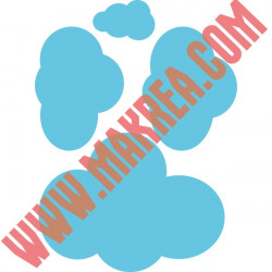 Stickers 4 Nuages