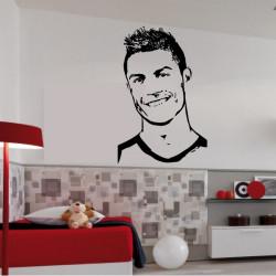 Sticker Footballeur - Ronaldo Cristiano Portrait