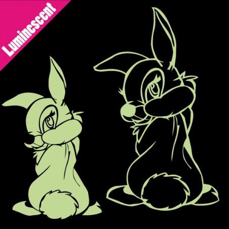 Luminescent Miss Bunny