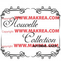 Sticker vitrine Cadre Nouvelle Collection Automne Hiver