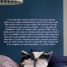 Texte : Extrait le Petit Prince - Typo Italique