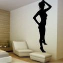 Sticker Femme sexy Debout 2