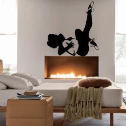 Femme sexy Danseuse et Coeur