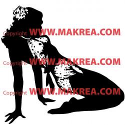 Sticker Femme sexy 4