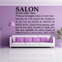 Sticker Définition : Salon