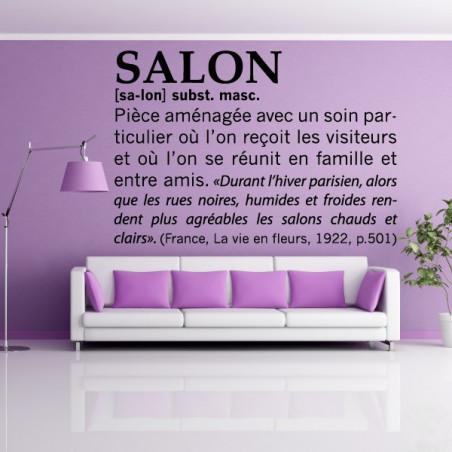 Définition : Salon