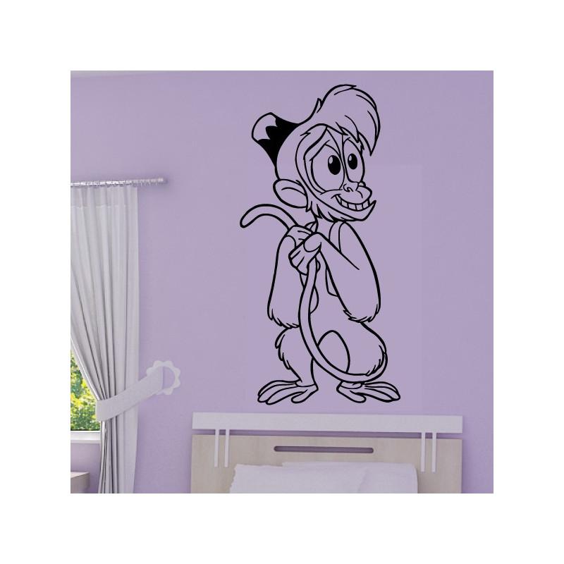 Sticker Aladdin et Jasmine - Abu le petit singe