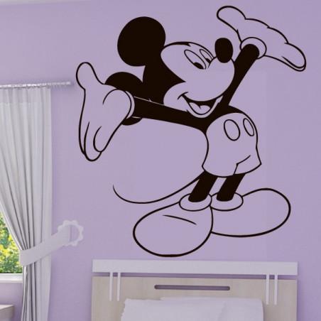Mickey Heureux Bras en l'air