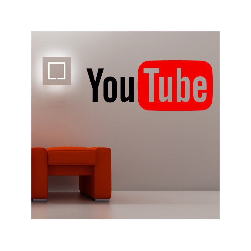 Sticker Logo YouTube