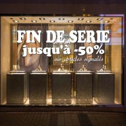 vitrine Fin de Série jusqu'à -50%