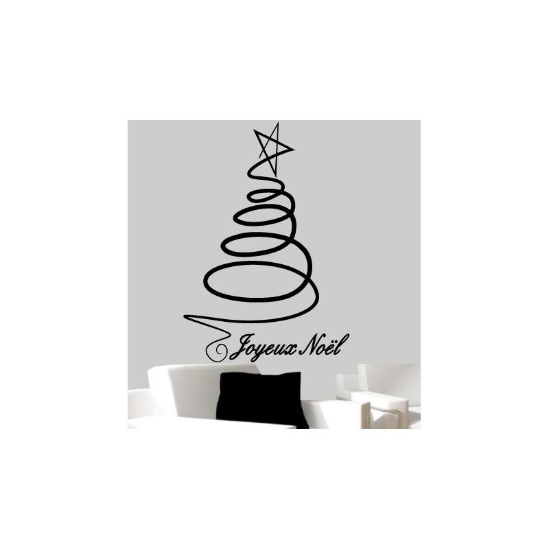 Noël - Joyeux Noël Et Sapin Design
