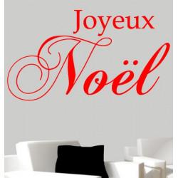 Sticker Noël - Joyeux Noël