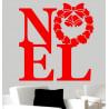 Sticker Noël - Noël Couronne