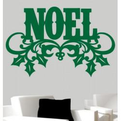 Sticker Noël - Noël Branche de Gui