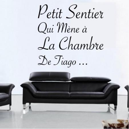 Texte : Petit Sentir qui mène ...