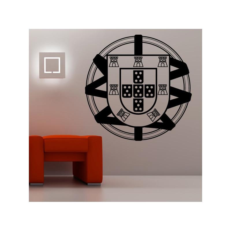 Sticker Logo Portugal Esfera Armilar