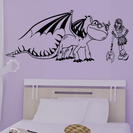Dragons - Tempête et Astrid