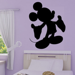 Mickey - Silhouette bras ouverts
