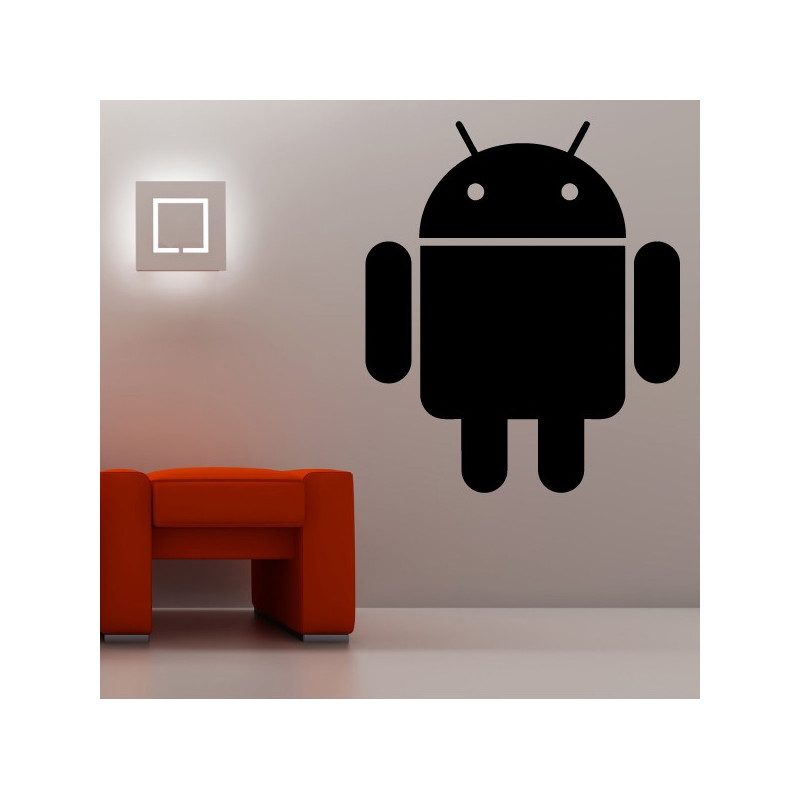 Sticker Logo Android