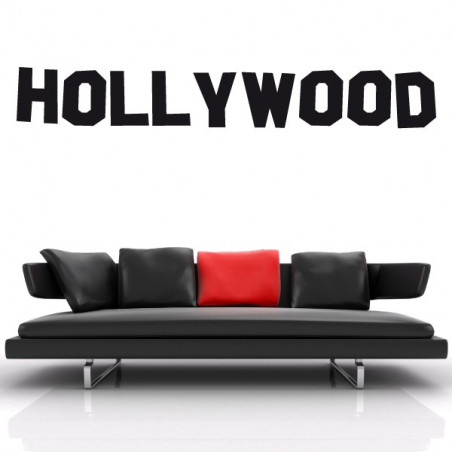 Cinema - Lettrage Hollywood