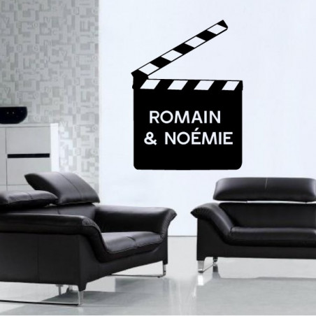 Cinema - Clap & Prénoms