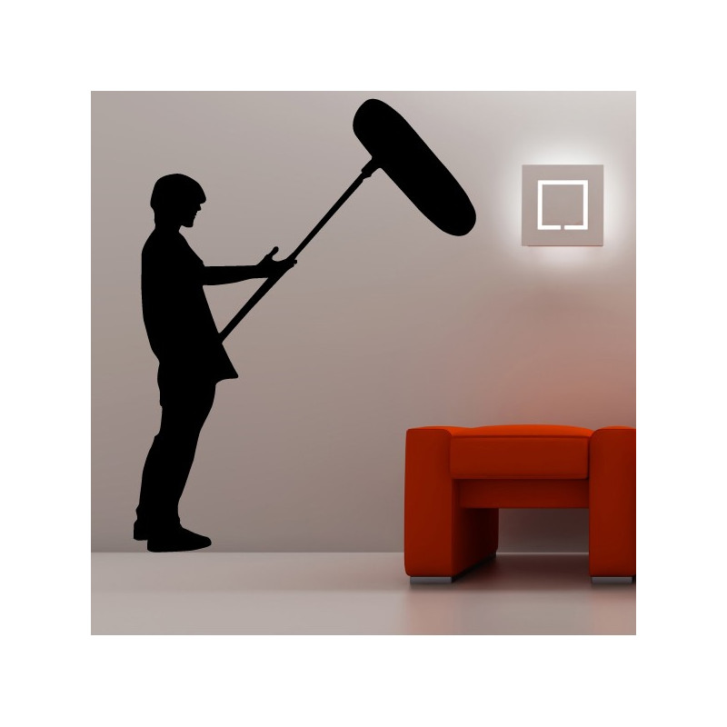 Sticker Cinema - Silhouette Preneur de son 2