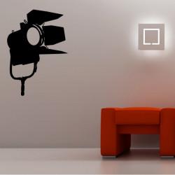 Sticker Cinema - Projecteur Lumière