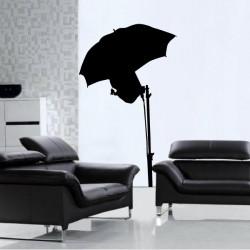 Cinéma - Silhouette Lumière Parapluie
