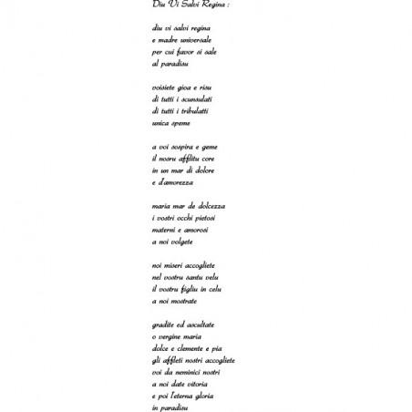 Chanson Hymne Corse - Diu Vi Salvi Regina