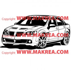 Sticker Voiture Tunning