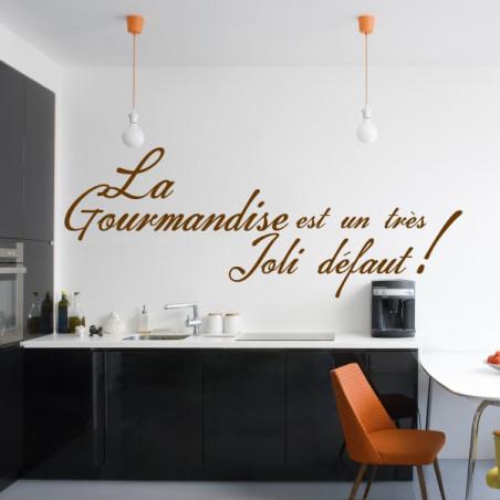 Cuisine - La Gourmandise est un très Joli défaut ! - 3 lignes