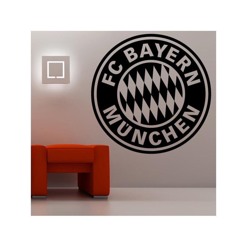 Sticker Logo FC Bayern Munchen