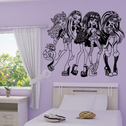 Sticker Poupées Monster High