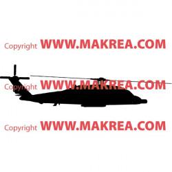 Sticker Hélicoptère