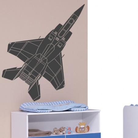 Sticker Avion de chasse