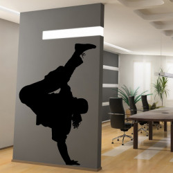Sticker Danseur Hip-Hop