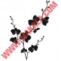 Sticker Nature - Orchidée en Fleurs