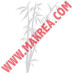 Sticker Dépoli Bambous
