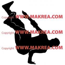 Sticker Danseur Hip-Hop 3