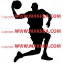 Sticker Basketteur